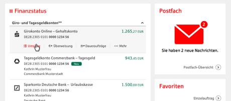 Multibanking Sparkasse Schweinfurt Hassberge
